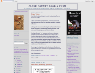 clarkfoodfarm.blogspot.com screenshot