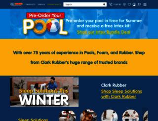 clarkrubber.com.au screenshot