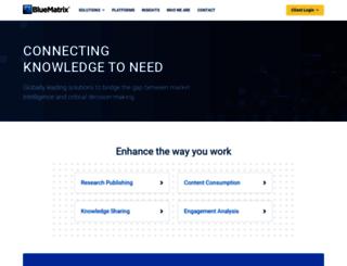 clarkson.bluematrix.com screenshot