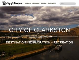 clarkston-wa.com screenshot
