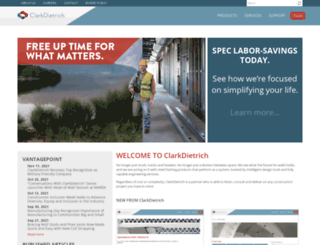 clarkwestern.com screenshot