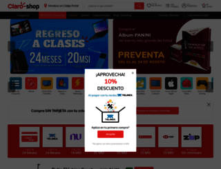 claroshop.com screenshot