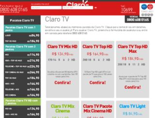 clarotvassinar.com.br screenshot