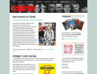 clarte.nu screenshot