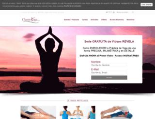 clases-yoga.com screenshot