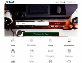clasf.co.za screenshot