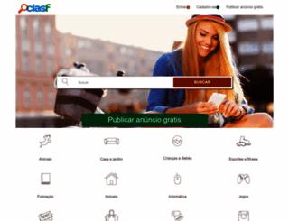 clasf.com.br screenshot