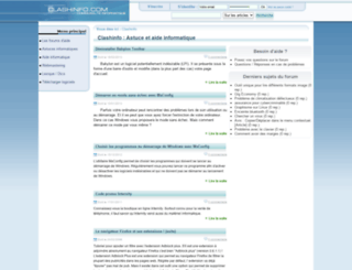 clashinfo.com screenshot