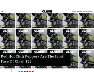 clashmusic.com screenshot