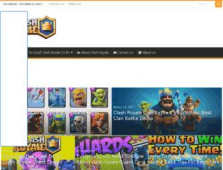 clashroyale4pc.com screenshot