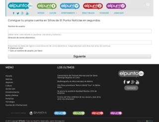 clasificados.elpunto.do screenshot