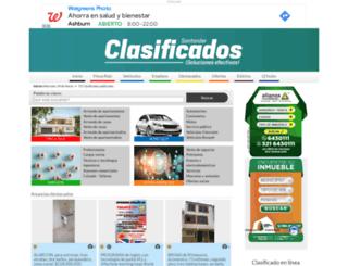 clasificadosvanguardia.com screenshot