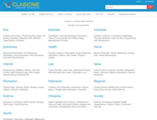 clasione.com screenshot