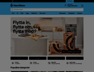 clasohlson.se screenshot