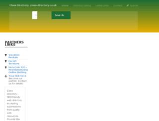 class-directory.co.uk screenshot