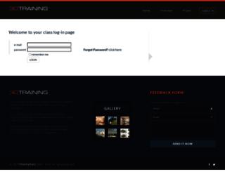 class.3dtraining.com screenshot