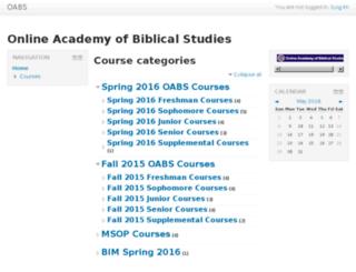 class.oabs.org screenshot