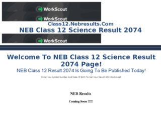 class12.nebresults.com screenshot