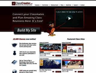 classcreator.com screenshot