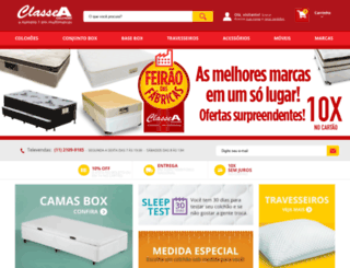classeacolchoes.com.br screenshot