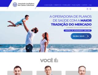 classeslaboriosas.com.br screenshot