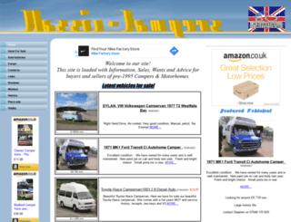 classic-campers.co.uk screenshot