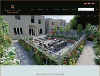 classic-garden-elements.co.uk screenshot