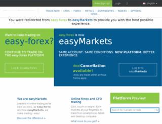 classic.easy-forex.com screenshot
