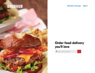 classic.grubhub.com screenshot