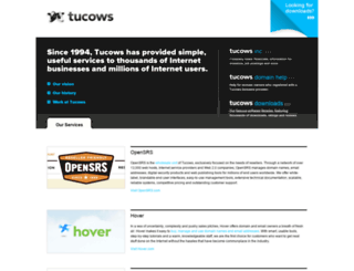 classic.tucows.com screenshot