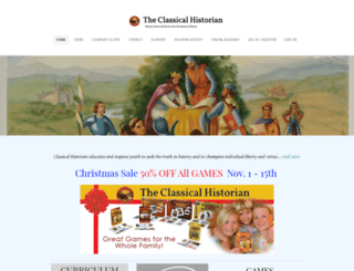 classicalhistorian.com screenshot