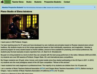classicalpianostudio.com screenshot