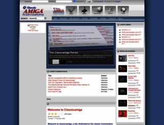 classicamiga.com screenshot