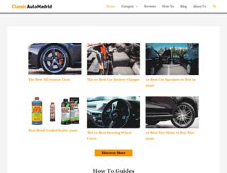 classicautomadrid.com screenshot
