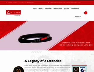classicbelts.com screenshot
