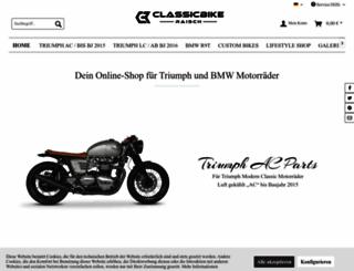 classicbike-raisch.de screenshot
