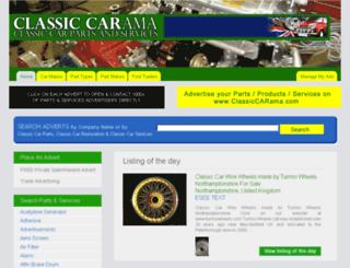 classiccarama.com screenshot