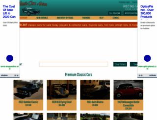 classiccarsarena.com screenshot