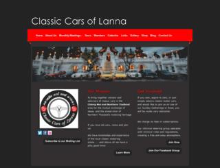 classiccarsoflanna.com screenshot