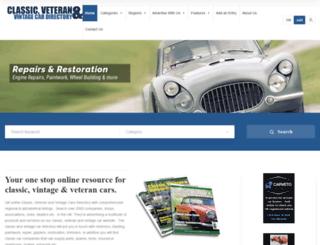 classiccarwebsite.com screenshot