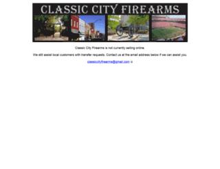 classiccityfirearms.com screenshot