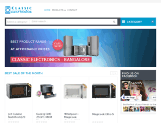 classicelectronicsbangalore.com screenshot