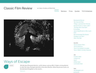 classicfilmpreview.com screenshot