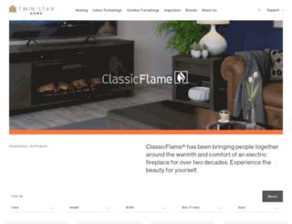 classicflame.com screenshot