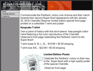 classicheadlines.com screenshot