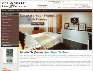 classichomedecorators.com screenshot
