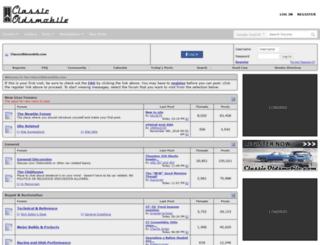 classicoldsmobile.com screenshot