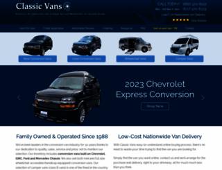 classicvans.com screenshot