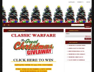 classicwarfare.com screenshot