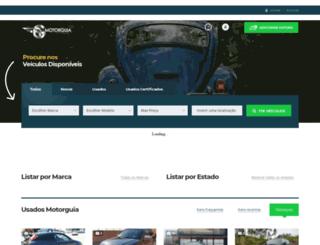 classificados.autohoje.com screenshot